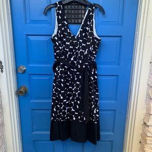 Jones Wear Dress Size 16 Polka-Dot